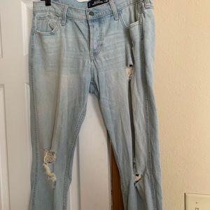 distressed vintage boyfriend jeans